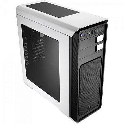 Gabinete Gamer Mid Tower AERO-800 EN55545 Branco AEROCOOL
