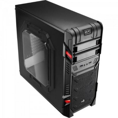 Gabinete Gamer Mid Tower GT ADVANCE 3.0 WINDOW Preto AEROCOO