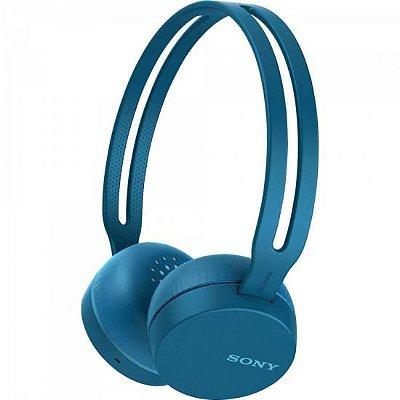 Fone Bluetooth WH-CH400/L Azul SONY