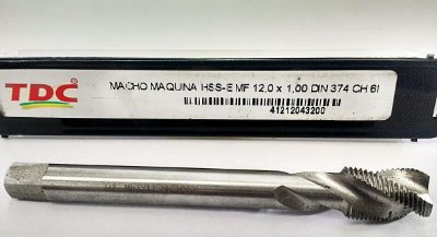 Macho Maquina Mb 12-1,00 Canal Hel Tdc