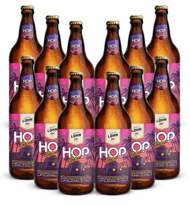 12 unidades de Hop Lager 600ml