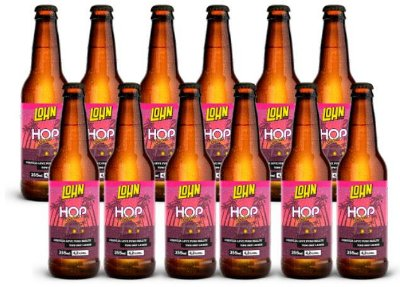 Pack 12 Cervejas Hop Lager 355ml