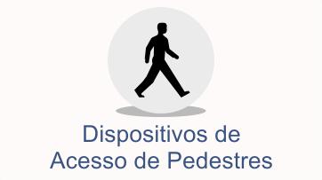 acesso de pedestres