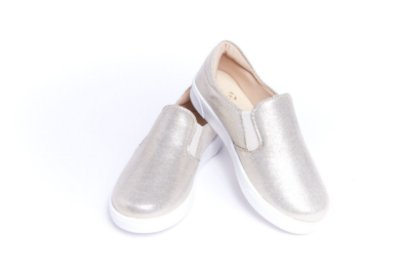 Tênis Slip-On Infantil Ouro Light