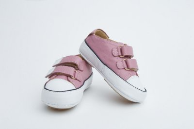 Tenis Baby Couro - Rosa Chiclete