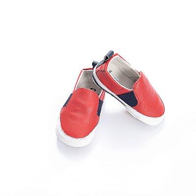 Tenis Baby Slip-on -  Vermelho