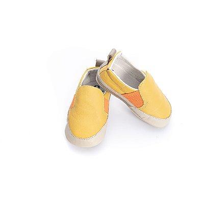Tenis Baby Slip-on - Amarelo