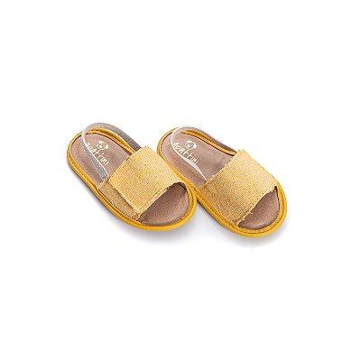 Chinelinho Baby Slide - amarelo