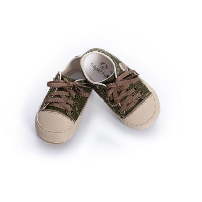 TEnis Baby Mini Star - Verde Militar