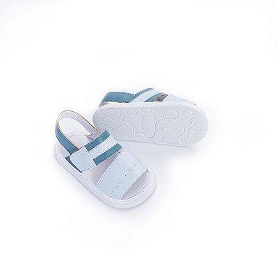 Sandália Baby - Azul Denin
