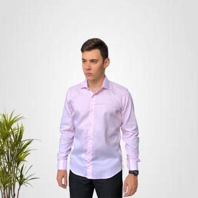 Camisa Social Lilas