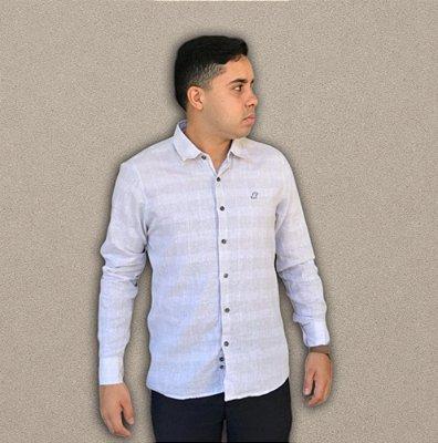 Camisa de Linho Off White
