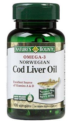Ômega 3 Importado - Combate o Colesterol + Vitaminas A & D