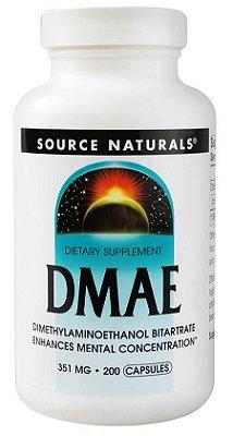 DMAE em Cápsulas Importado - Previne Envelhecimento Antioxidante