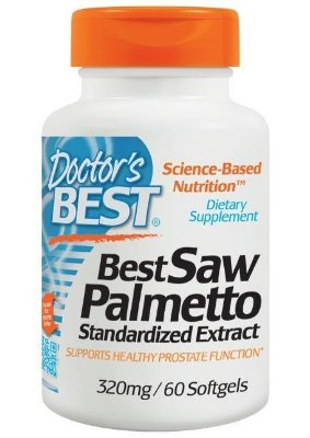 Saw Palmetto Extrato 320mg Importado - Promove Saúde da Próstata