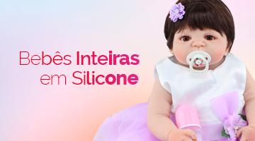 Veja aqui as modelos Bebe Reborn inteira em Silicone
