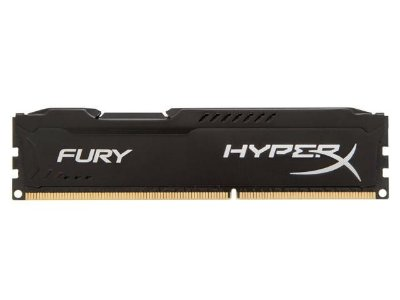 MEMORIA DDR3 HYPER X KINGSTON FURY BLACK 4GB 1600MHZ