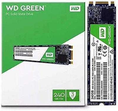 SSD WD GREEN M.2 2280 240GB SATA III 545MB/s WDS240G2G0B
