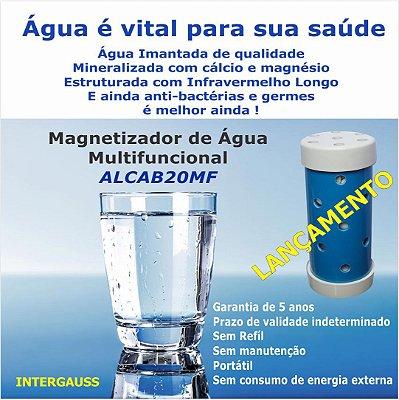 MAGNETIZADOR ALCALINIZADOR DE ÁGUA MULTIFUNCIONAL