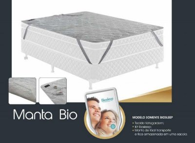 Manta Biosleep Converter sem vibro /Transforme seu colchão!