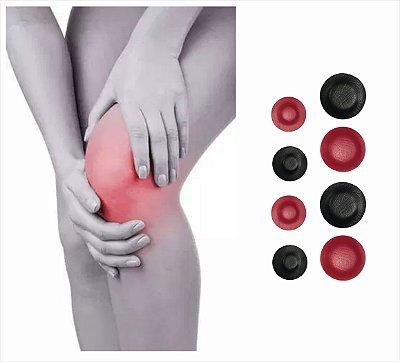 JOELHO - Kit de Super ímãs p/ alívio de dor e tratamento complementar