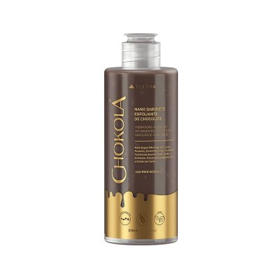 CHOKOLÁ - NANO SABONETE ESFOLIANTE DE CHOCOLATE 250ml