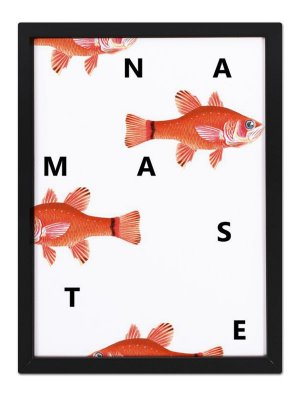 Poster Namastê