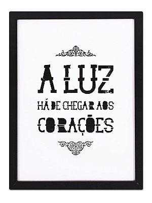 Poster Luz & Corações