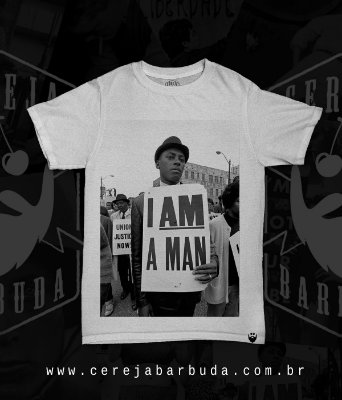 Camiseta I am a man