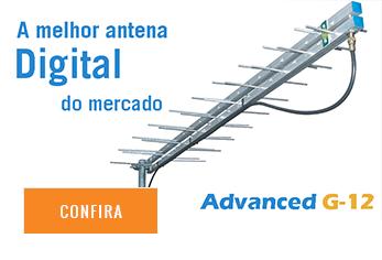 Antenhas log para sinal Digital
