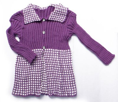 Casaco De Lã Para Menina