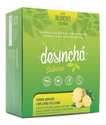 Desinchá Abacaxi C/Limão Siciliano - 30 Sachês
