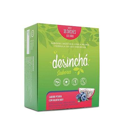 Desinchá Pitaya com Bluberry C/30 Sachês