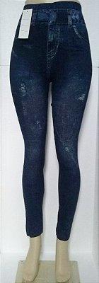 Calça Legging Jeans Estonada