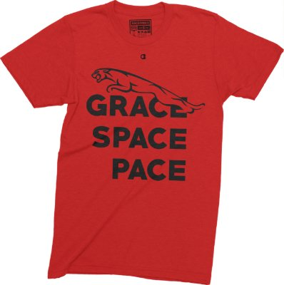 Grace Space Pace T-shirt - Red