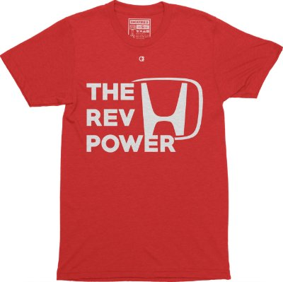 The Rev Power T-shirt - Red