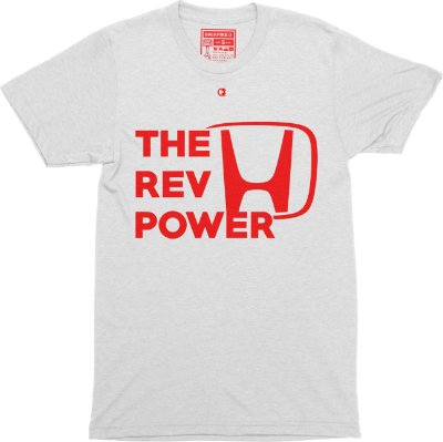 The Rev Power T-shirt - White