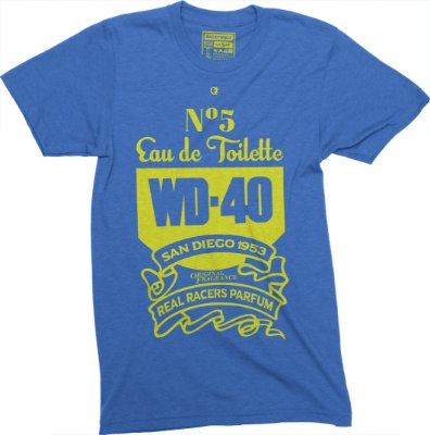 WD-40 Parfum T-shirt - Blue