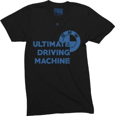 Ultimate Driving Machine T-Shirt - Black