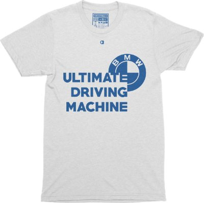 Ultimate Driving Machine T-Shirt - White