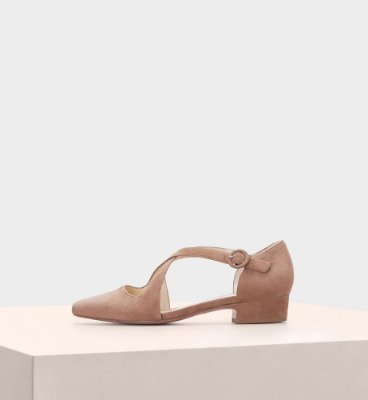 FLORENCE FLAT SUEDE LIGHT BEIGE