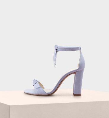 CLARITA BLOCK SUEDE CRYSTAL BLUE