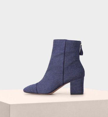 JESSY JEANS SUEDE INDIGO NIGHT SHADE