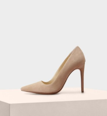 NEW HALLE SUEDE NUDE