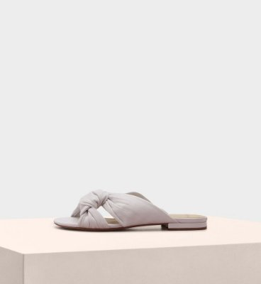 KACEY FLAT NAPPA ROYAL WHITE