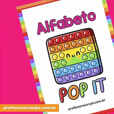 Alfabeto POP IT   Produto Digital