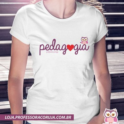 Camiseta Pedagogia