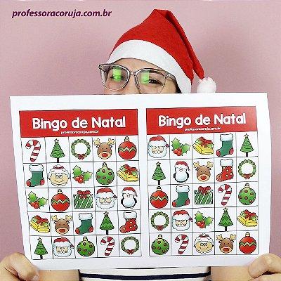 Bingo de Natal | Produto Digital