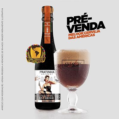 PRÉ VENDA - CERVEJA CULOTTE - 375ml - Edição Limitada 2018