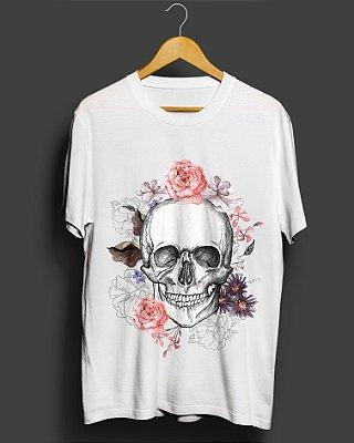 Camiseta Skull and Roses